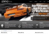 A great web design by theDevFirm:
