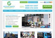 A great web design by Reston Waste, London, United Kingdom: