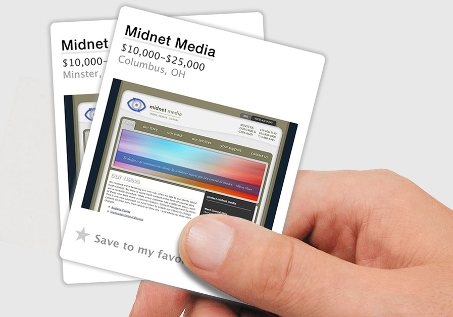 A great web design by Midnet Media, Columbus, OH: