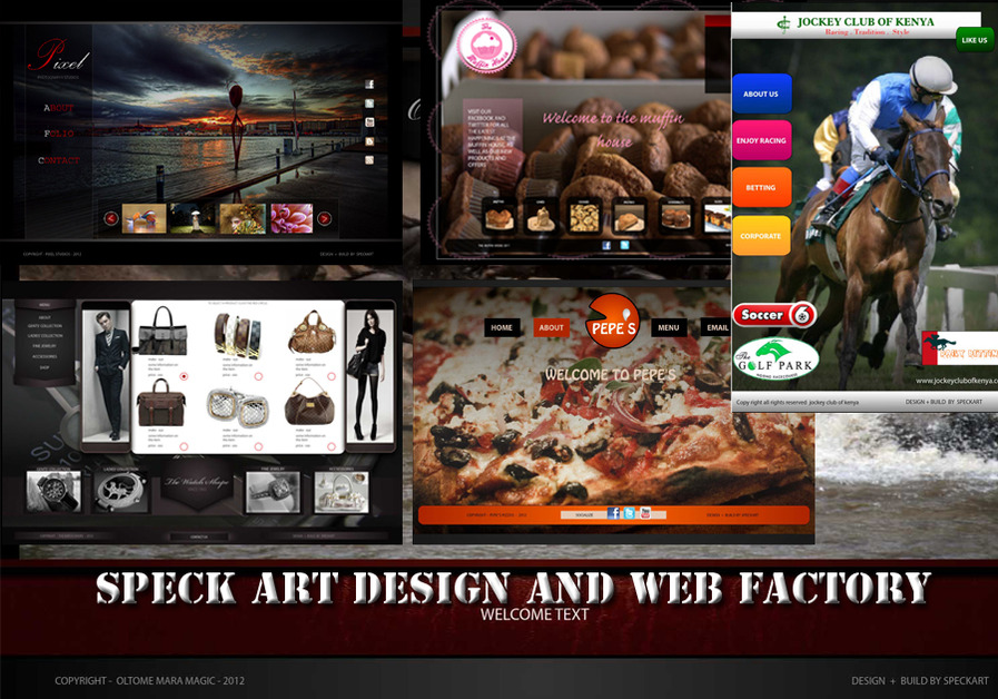 A great web design by Speck art Studios, Kent, United Kingdom:
