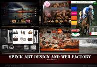 A great web design by Speck art Studios, Kent, United Kingdom: