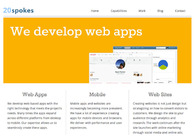 A great web design by 20spokes, Chicago, IL: