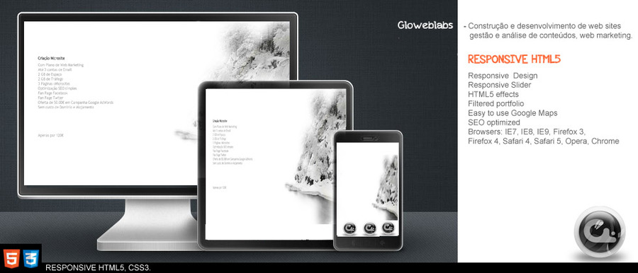 A great web design by Gloweblabs - Bruno Marques , Lisbon, Portugal: