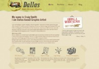 A great web design by Webbernaut, Dallas, TX:
