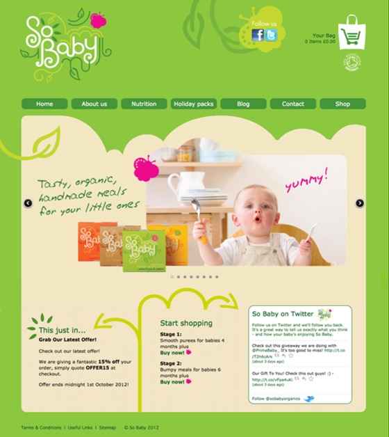 A great web design by Wright Creative, Wimborne, United Kingdom: