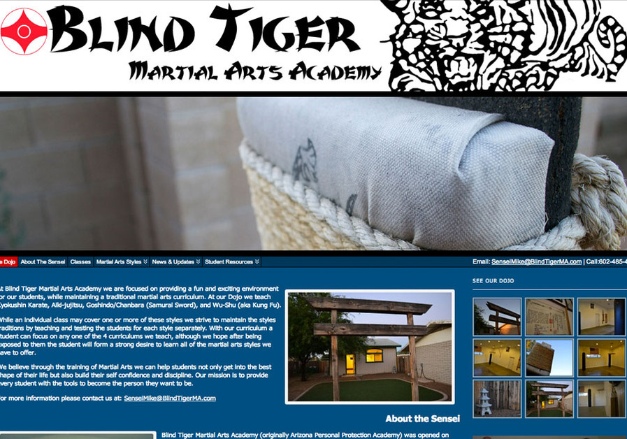 A great web design by SNX Designs, Phoenix, AZ: