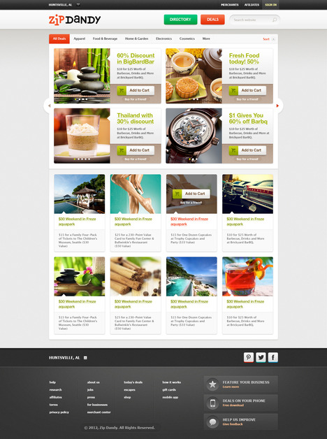 A great web design by Translucent Developments, Phoenix, AZ:
