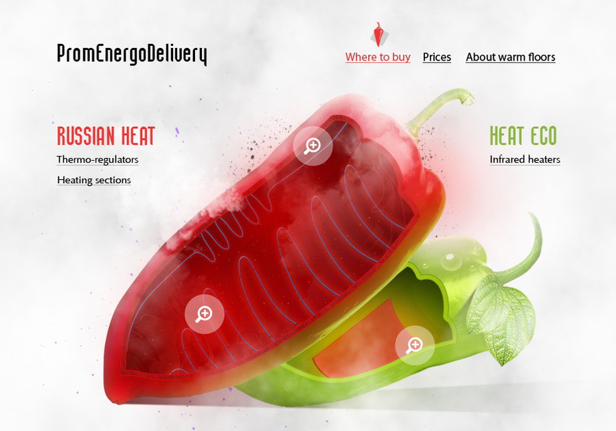 A great web design by Konstantin Timukov, Belgorod, Russia: