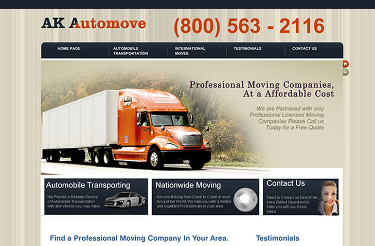 A great web design by Ad Local Marketing, Los Angeles, CA: