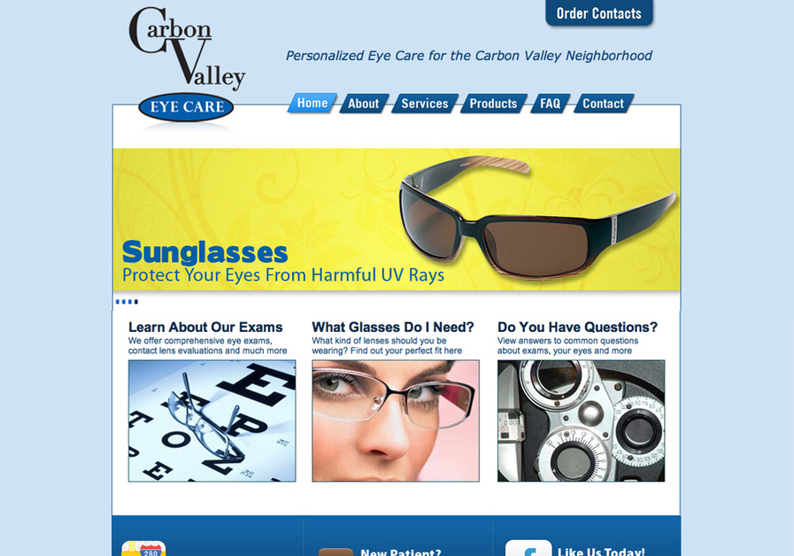A great web design by designs by Steve Wiant, Denver, CO: