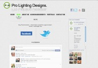 A great web design by Pro Lighting Designs, Manila, United Kingdom: