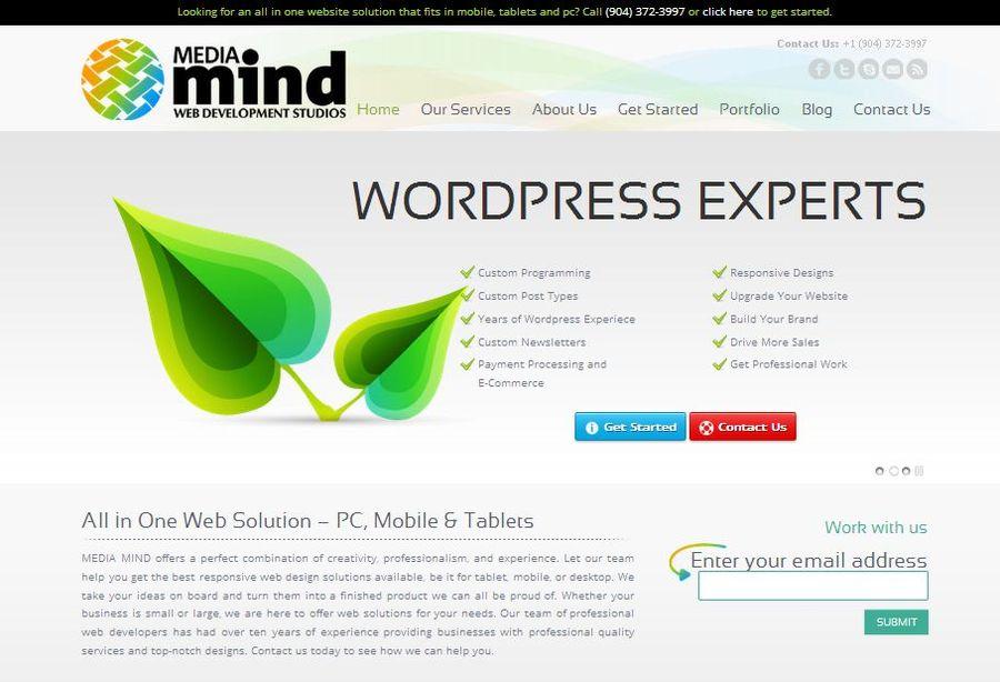 A great web design by Media Mind Studios, Jacksonville, FL: