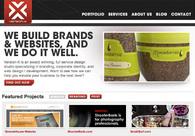 A great web design by Version-X Design, Los Angeles, CA: