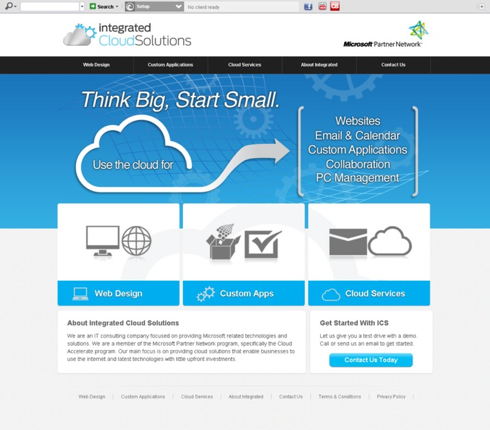 A great web design by Potenza Global Solutions, Surat, India: