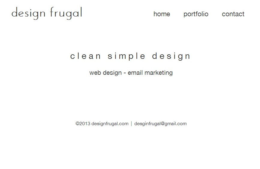 A great web design by design frugal, Cleveland, OH: