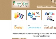A great web design by TreeShore, Chennai, India:
