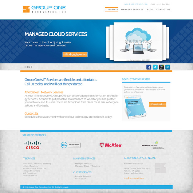 A great web design by Sightbox Studios, Folsom, CA: