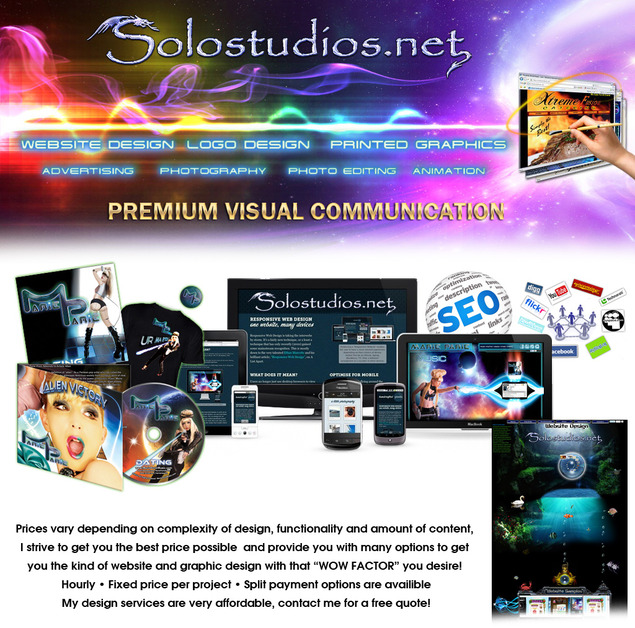 A great web design by Solostudios.net, Los Angeles, CA: