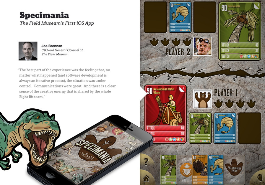 A great web design by Eight Bit Studios, Chicago, IL: