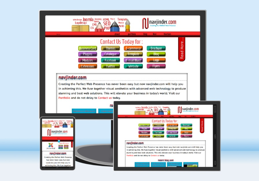 A great web design by Navjinder.com, Toronto, Canada: