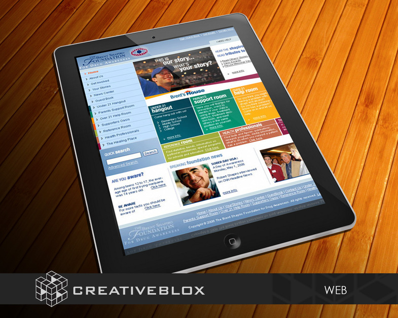 A great web design by creativeblox, Los Angeles, CA: