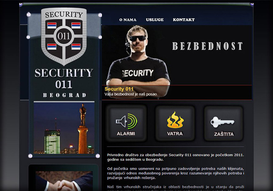 A great web design by SkyBlue2Design, Belgrade, Serbia: