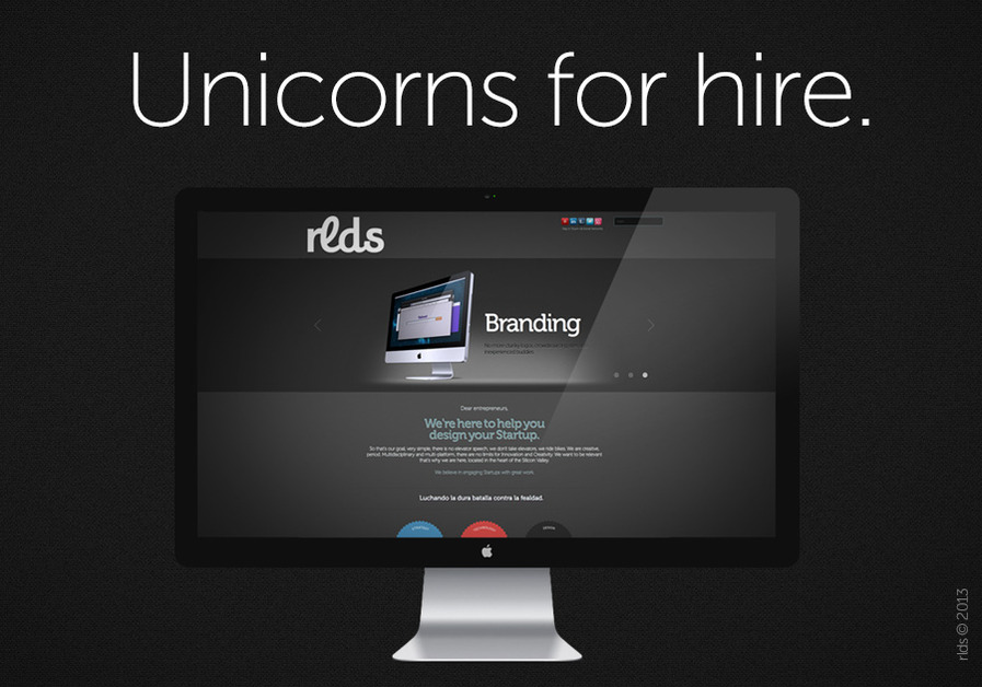 A great web design by Rlds, San Francisco, CA: