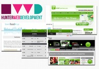 A great web design by Hunter Web Development, London, United Kingdom: