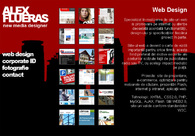 A great web design by Alex Flueras, Brasov, Romania: