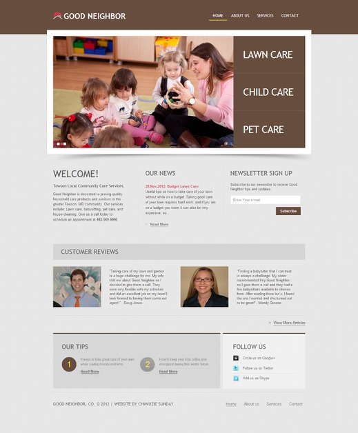 A great web design by CS Media Labs, Washington DC, DC: