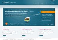 A great web design by Pixart Webdesign, Aarhus, Denmark: