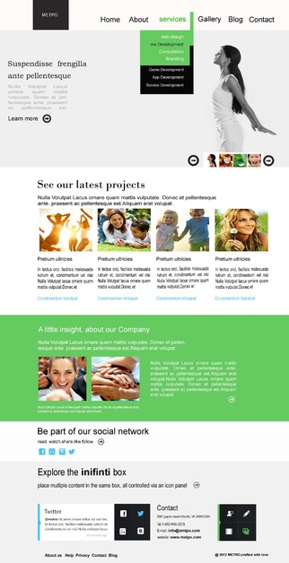 A great web design by Rishi Infomedia, Hyderabad, India: