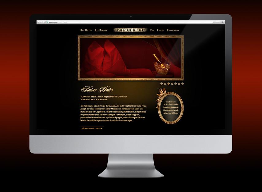 A great web design by Agentur Ferrás, Vienna, Austria: