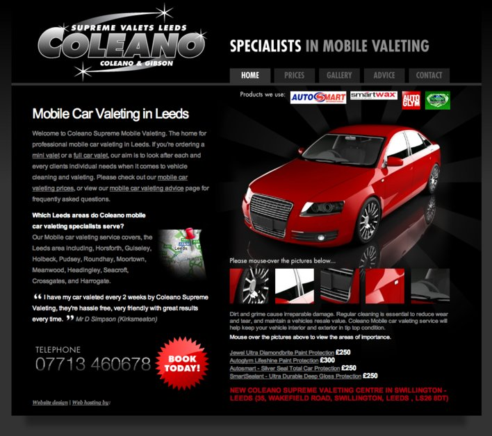 A great web design by Printline Advertising, Leeds, United Kingdom: