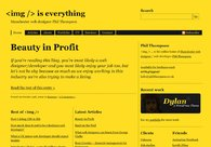 A great web design by Phil Thompson, Manchester, United Kingdom:
