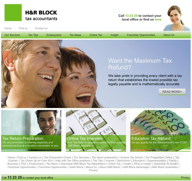 A great web design by Hinterlands, Sydney, Australia:
