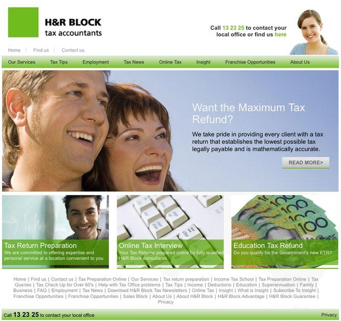 A great web design by Hinterlands, Sydney, Australia: