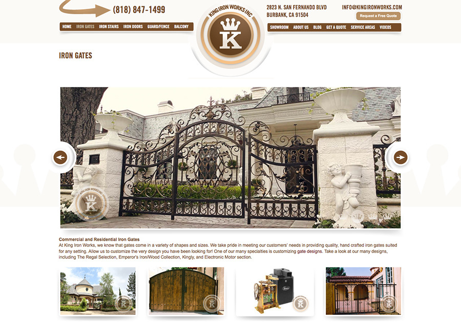 A great web design by CHRS Interactive, Los Angeles, CA: Website, Other, Construction , Wordpress