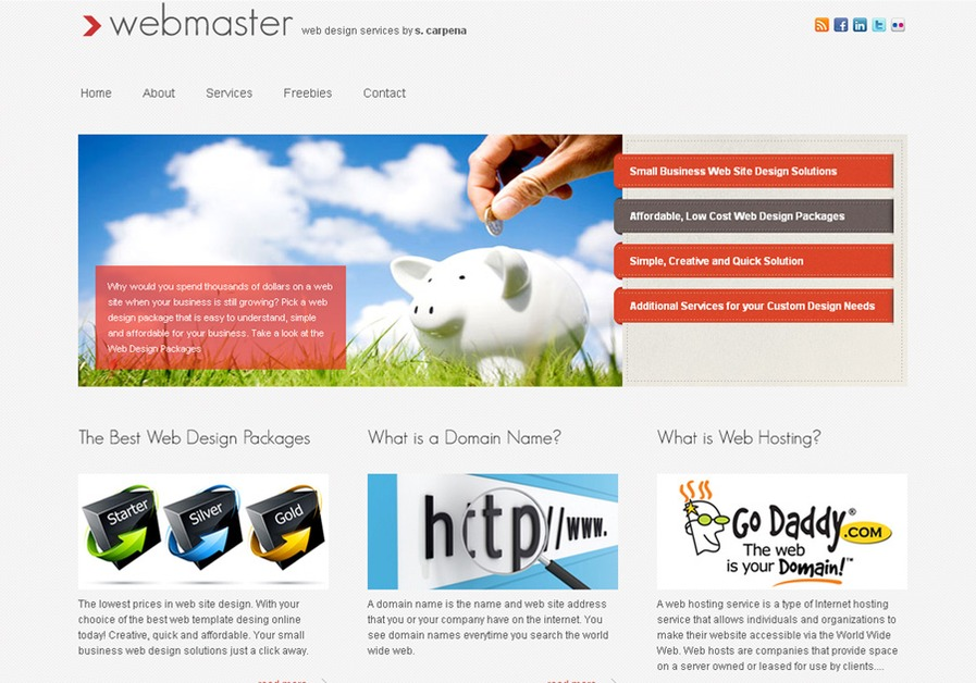A great web design by web-master.us, Fort Myers, FL: