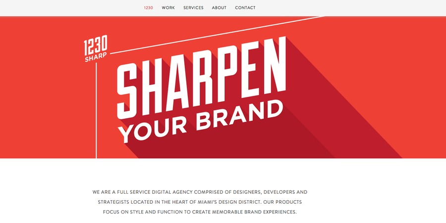 A great web design by 1230 Sharp, Miami, FL: