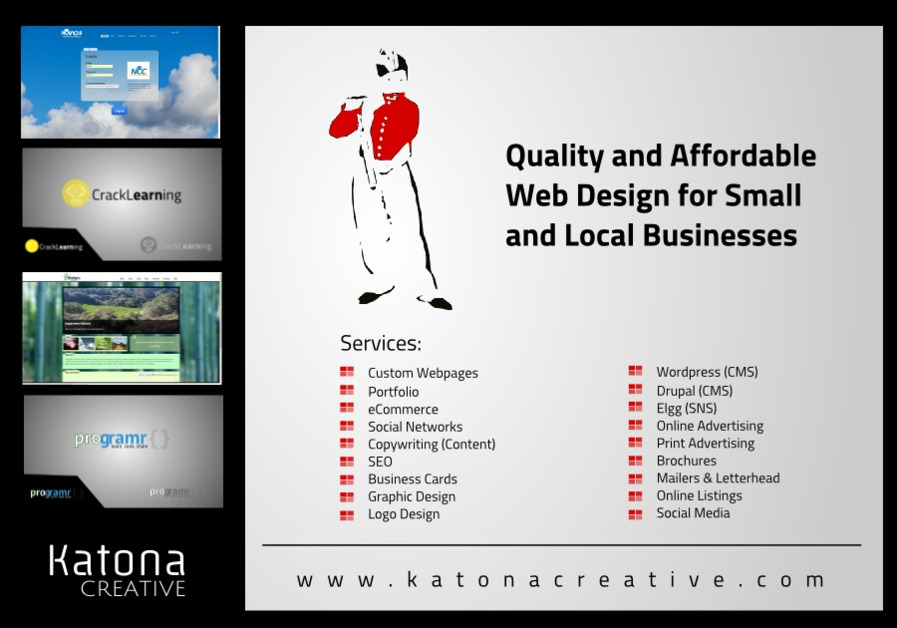 A great web design by Katona Creative, San Francisco, CA: