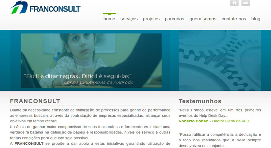 A great web design by WH Infotech, Sao Paulo, Brazil: