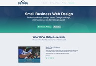 A great web design by Ripcord Design, Boston, MA: