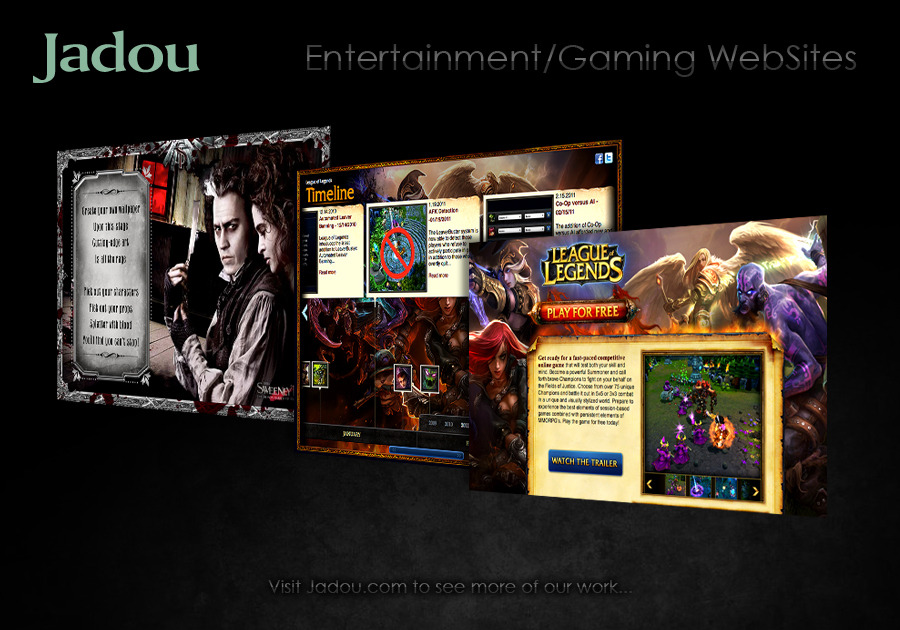 A great web design by Jadou, LLC, Los Angeles, CA: Responsive Website, Portfolio , Entertainment , Drupal