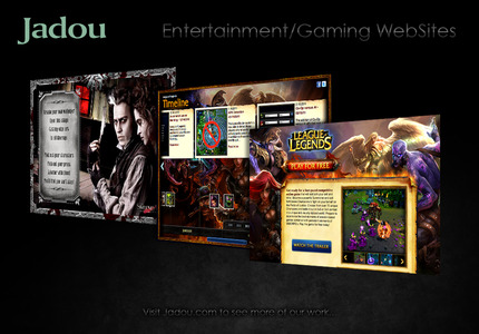 A great web design by Jadou, LLC: Responsive Website, Portfolio , Entertainment , Drupal