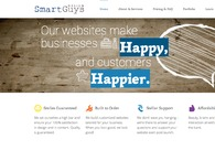 A great web design by SmartGuys Design, Overland Park, KS: