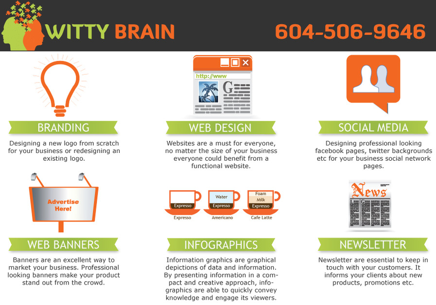 A great web design by Witty Brain, Vancouver, Canada: