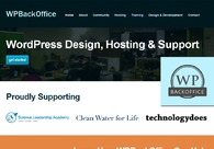 A great web design by WPBackOffice: Responsive Website, Portfolio , Software , Wordpress