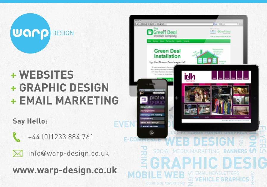 Sortfolio: Warp Design, Kent