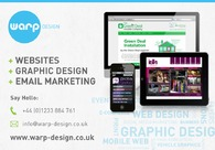 A great web design by Warp Design, Kent, United Kingdom: